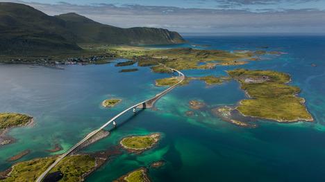 140329フレッドヴァング橋@ノルウェー ロフォーテン諸島
