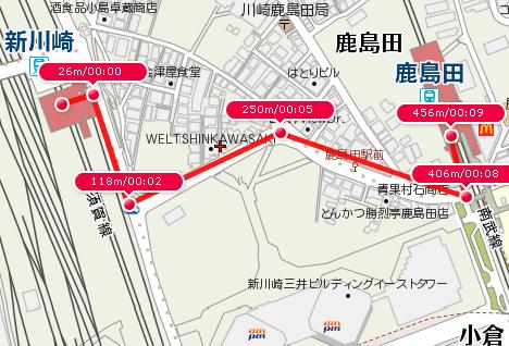 新川崎~鹿島田