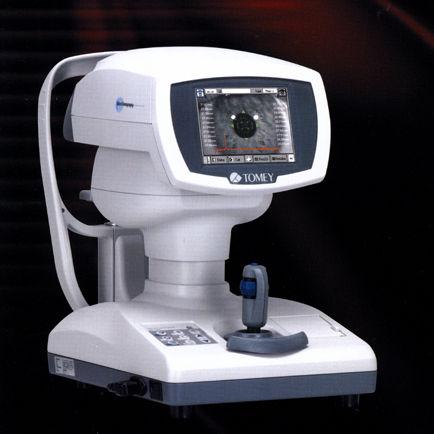 ピントをしっかり合わせる 光眼軸長測定裝置 : もりや眼科 森谷充雄が眼科の事を分かりやすく説明します。