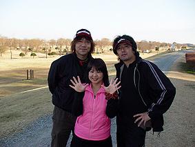 新年ゴルフ