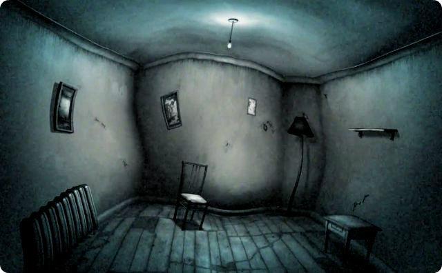 不気味な部屋
