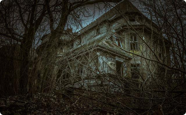 病院の廃墟