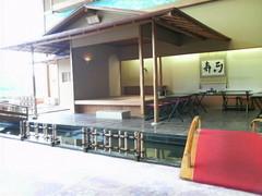 ホテル九重(ロビーの茶室)