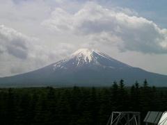 富士山レーダードーム館から見える富士山