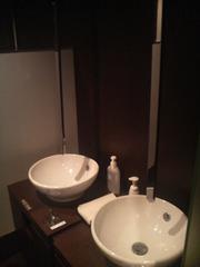 トイレの手洗い