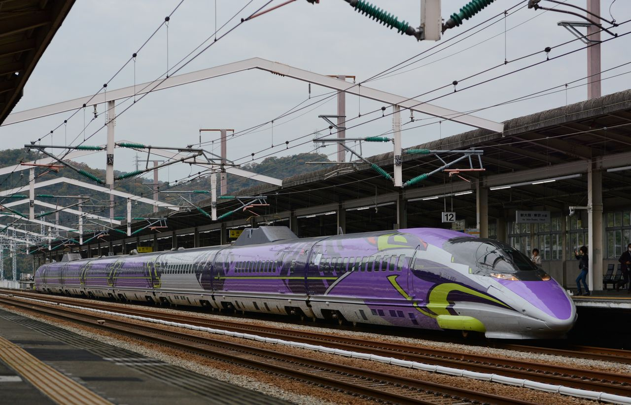 500 TYPE EVA : orirariraの新幹線紀行