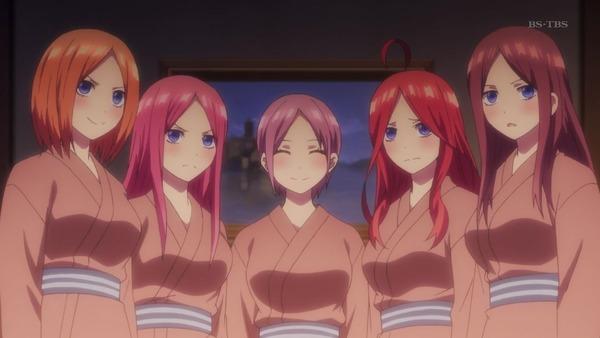 「五等分の花嫁」第9話感想 (55)