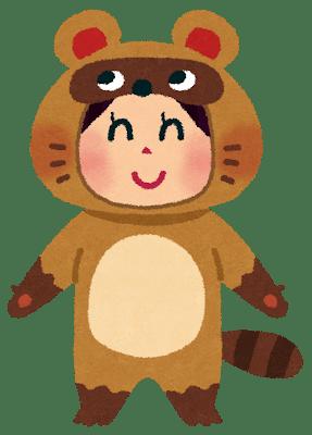 tanuki_kigurumi