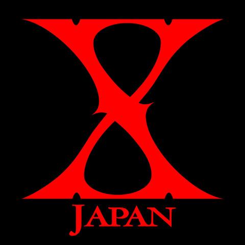 X_JAPAN_logo_background_black