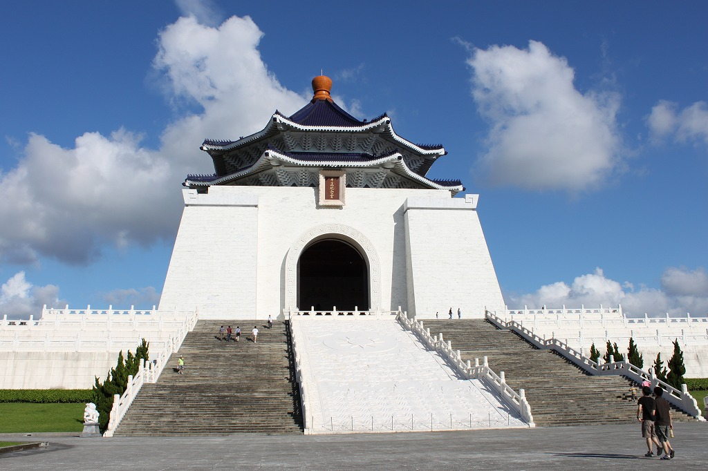 全大陸 プチ豪華旅行 海外旅行大好きブログ :臺北 中正紀念堂へ