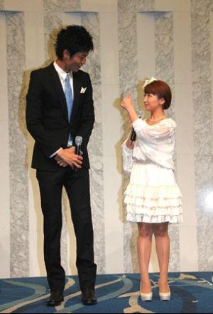 毎日の出來事 : 矢口真里さん,結婚會見・・