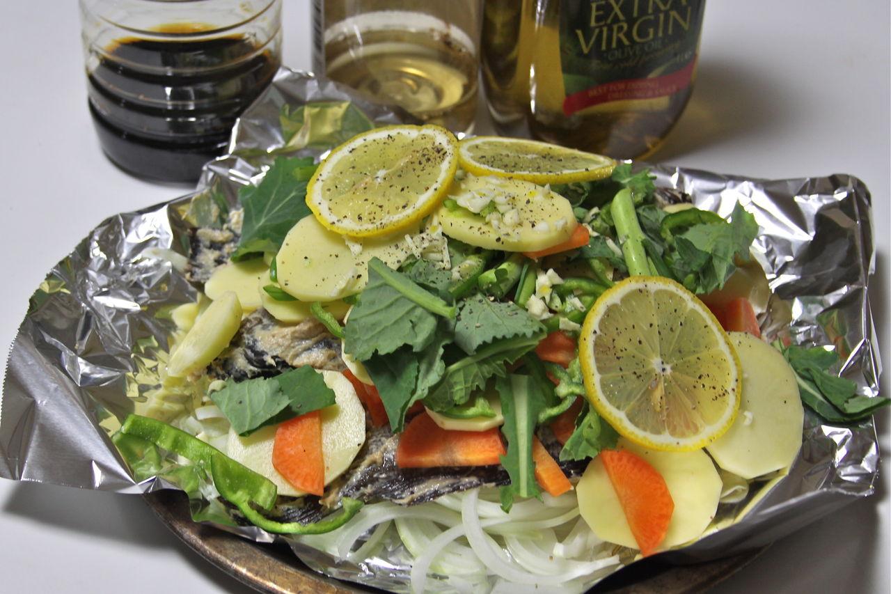 メバルの粕漬けのホイル焼き : 魚文化研究所(釣り大好き)のブログ