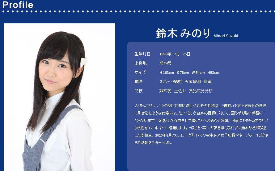 【AKBとは無関係】マクロスΔの新歌姫鈴木みのりは別人です : 365毎日TANTAN
