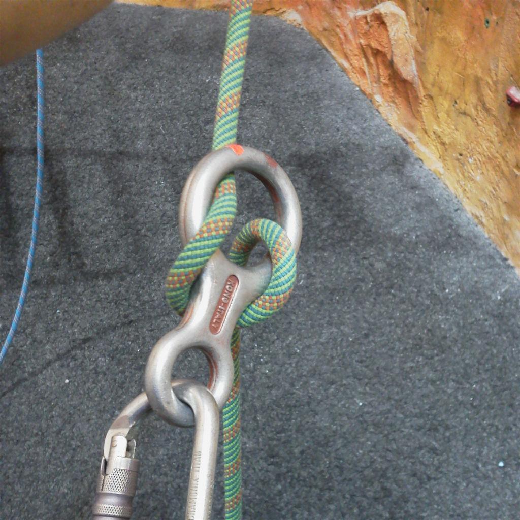 massy's climbing blog:いまさら,エイト環ですか