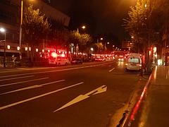 西新宿4丁目・火災