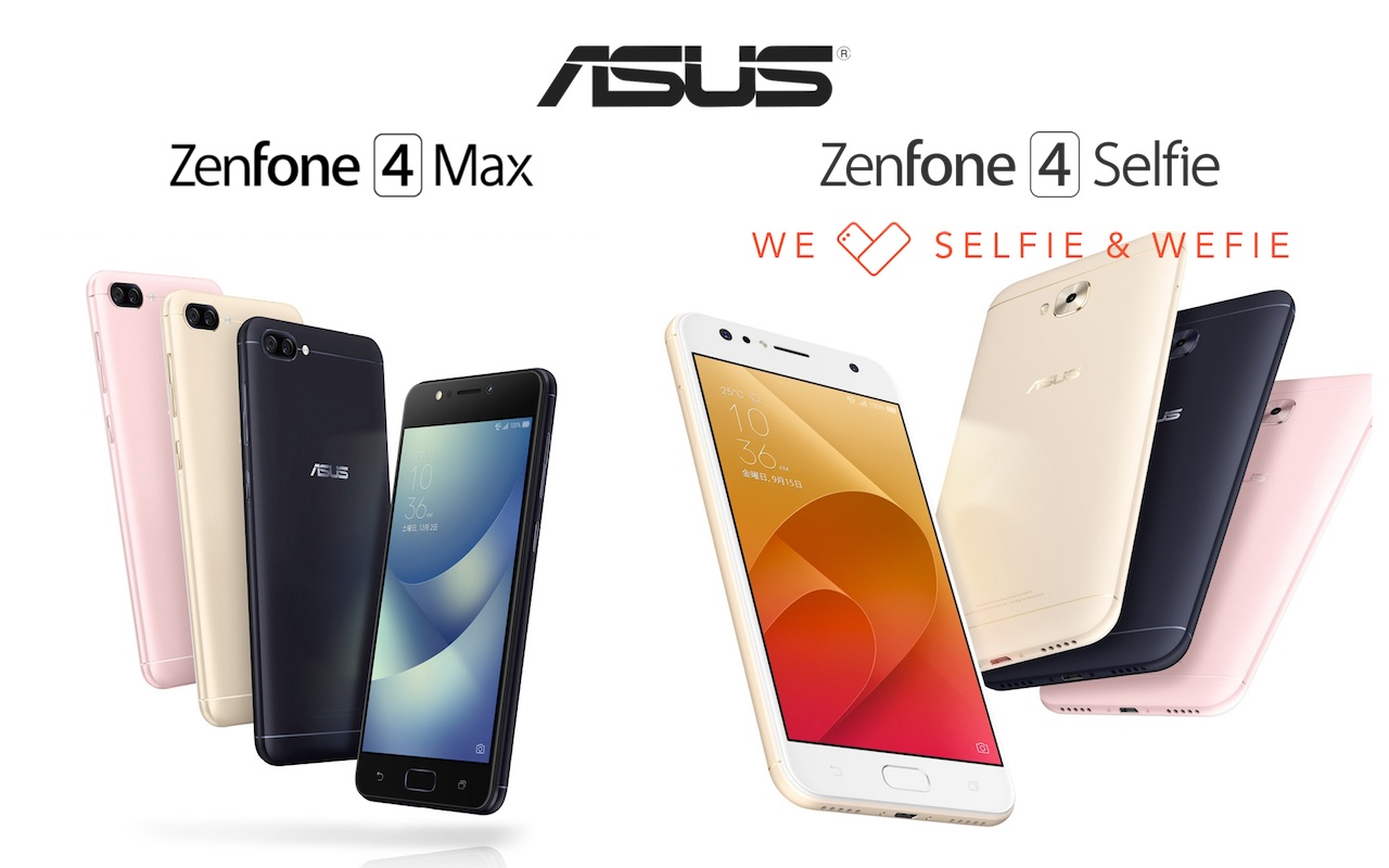 ASUS JAPAN,SIMフリースマホ「ZenFone 4 Max ZC520KL」と「ZenFone 4 Selfie ...