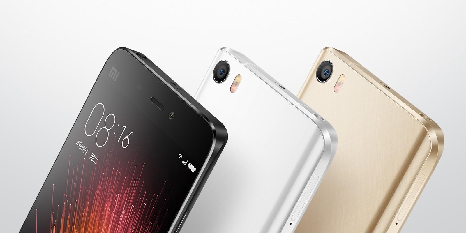 小米、新フラッグシップスマホ「Xiaomi Mi 5」と「Xiaomi 4S」を発表!指紋認証やVoLTE、CAに対応し、最上位 ...
