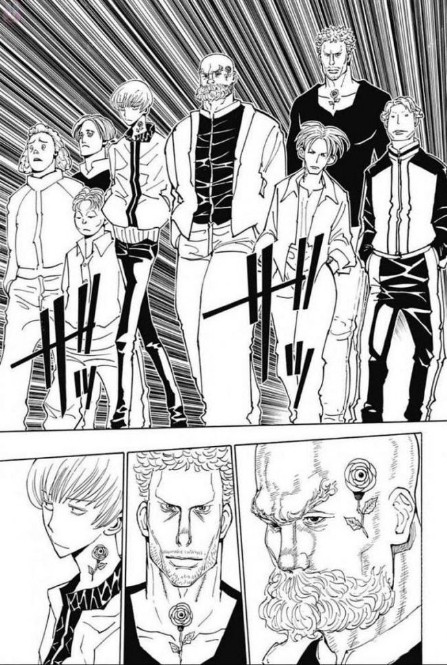 【悲報】幻影旅団さん、モブのヤクザにやんわり諭され席を譲る