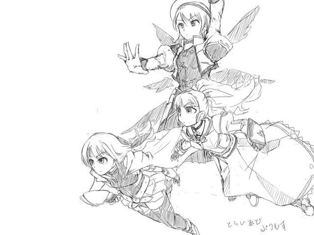 【モバマス】《お絵かき》奈緒の魔法少女の時間はまだ終わらないのよ! ほか