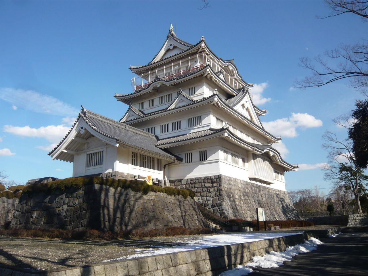 城とか陵墓とか : 亥鼻城(千葉城)
