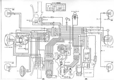 CD125S配線図 : 何となく楽しい バイクのある人生