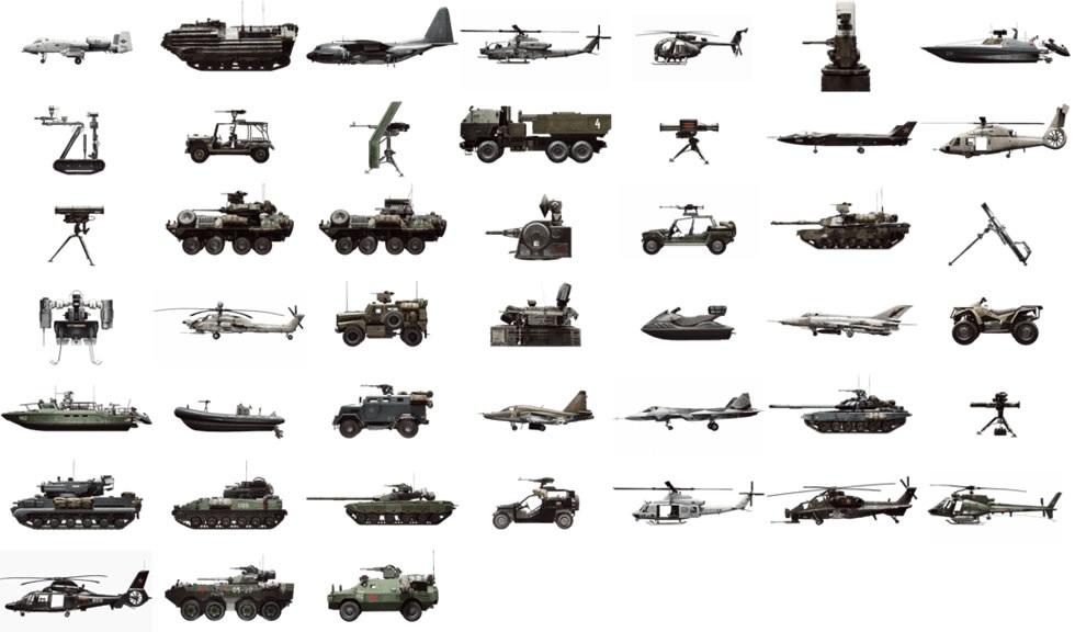 【BF4】武器、車両、アタッチメント、階級章、リボンの全てをまとめた画像 : はるぼーど