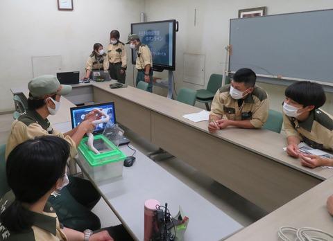 オンライン教室ヘビ