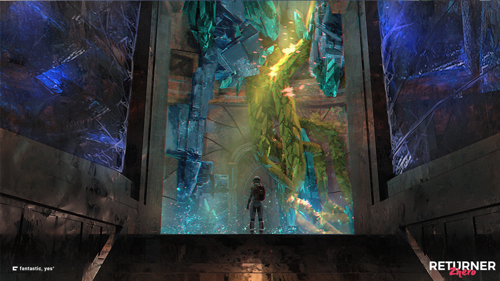 鉱物系の異星人文明世界を探索する『Returner Zhero』リリース ...