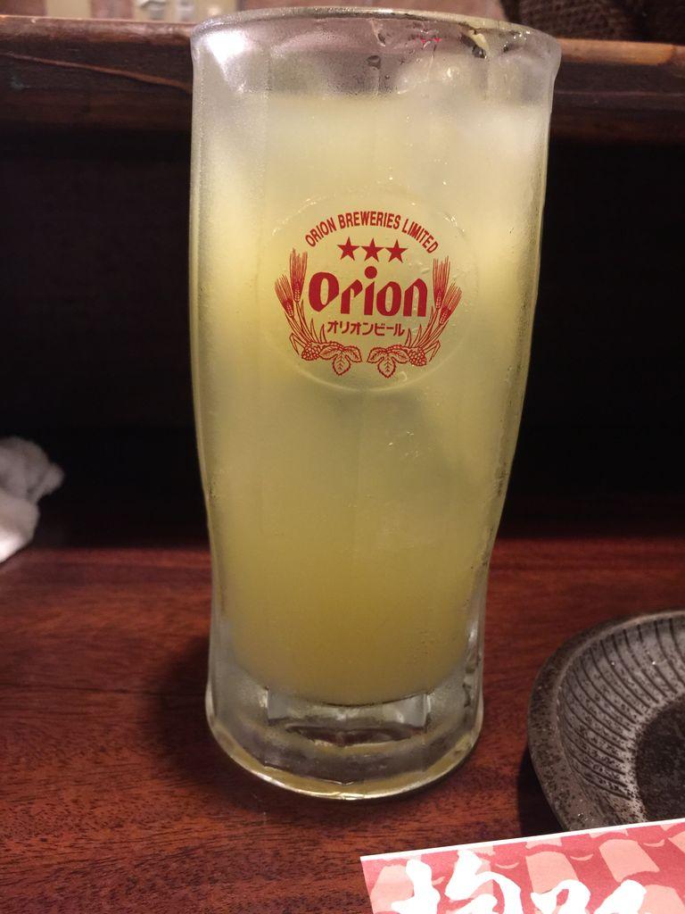 シークワッサー サワー@抱瓶/沖縄 : traveling-Lemon Sour