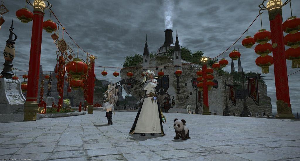 【新生FF14】中國版のベヒーモスが獅子舞みたいwwwwwまた,中國限定?のパンダミニオンの姿も!ぜひ逆輸入 ...