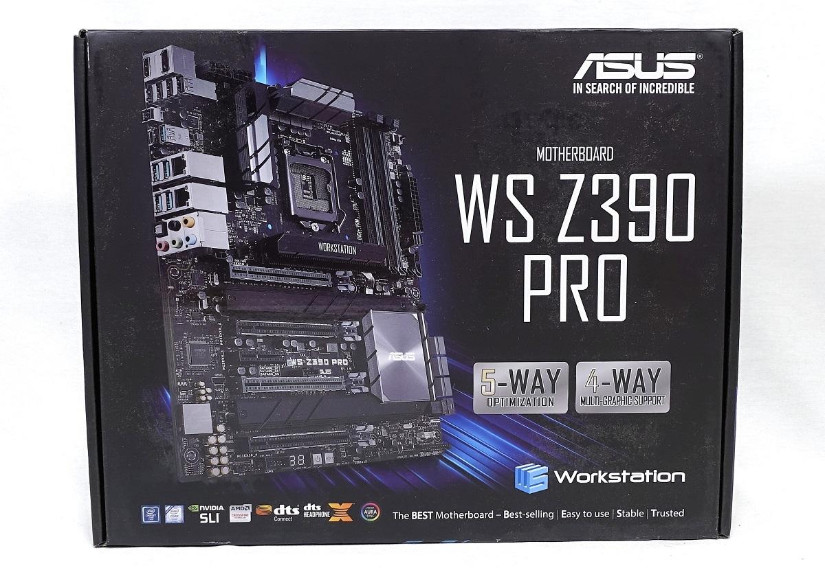 「ASUS WS Z390 PRO」をレビュー。x16サイズPCIEスロットを4基搭載し,NVIDIA SLIにも対応したワークステーション ...
