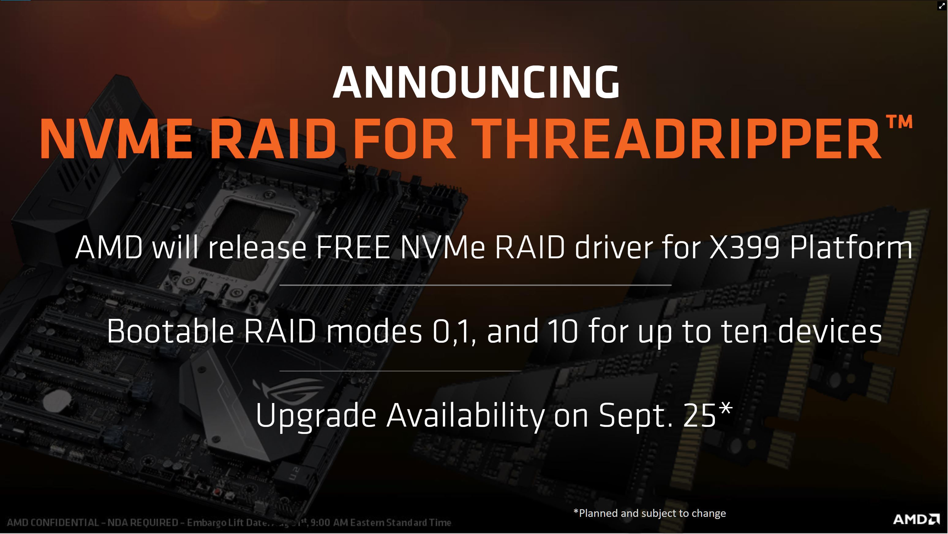 Threadripper&TRX40環境でNVMe RAIDにOSをインストールする方法 : 自作とゲームと趣味の日々