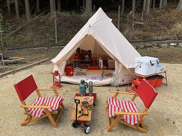 我が家の冬キャンプのレイアウト&装備は超完璧!詳しくブログで紹介。 : Kutikomi