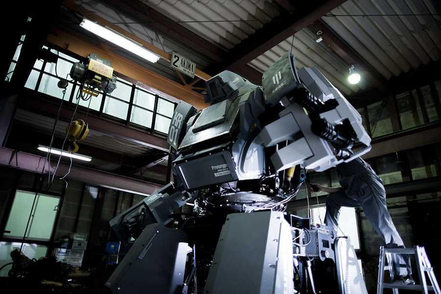 海外反応! I LOVE JAPAN : 日本がついにアマゾンでロボット兵器を ...