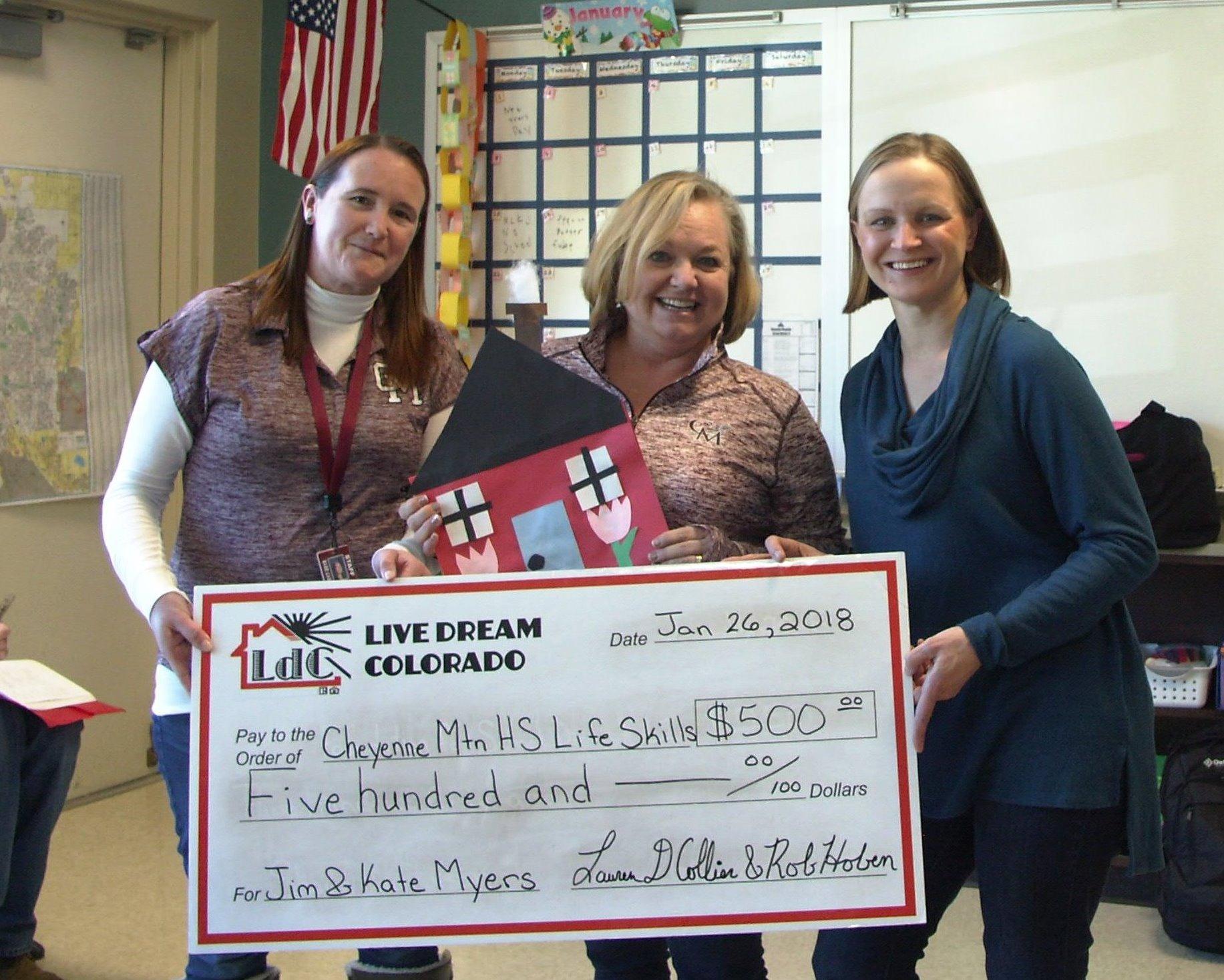 Life Skills At Cheyenne Mountain High School Benefits From Teacher Program