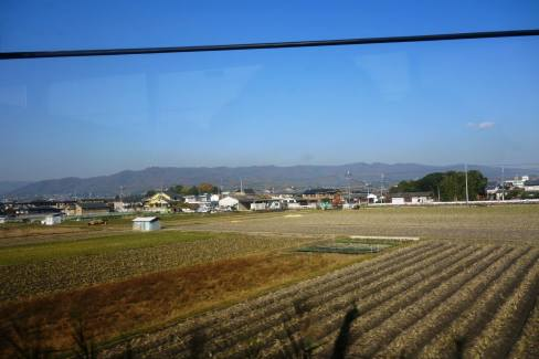 On the way to Nara