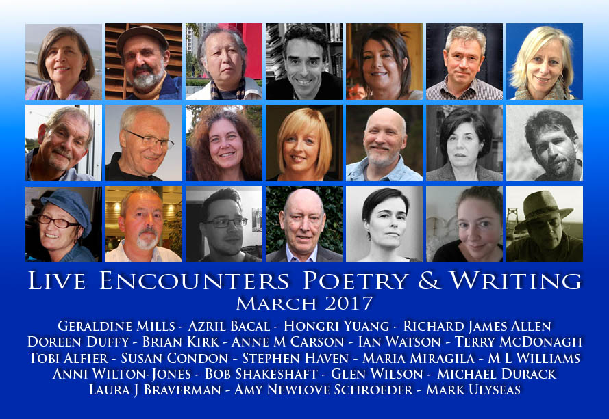 Banner Final Live Encounters Poetry & Writing 2017