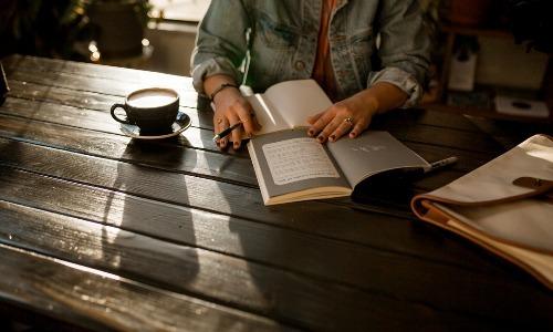 Habit of reading good books helps.