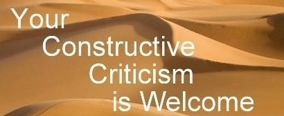 Constructive criticism-How it fueled my life.