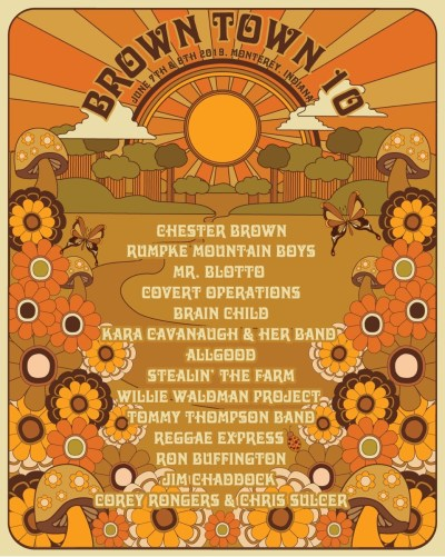 Brown Town Music Festival Lineup