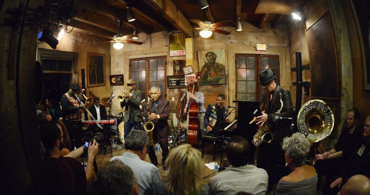 Jon Batiste with Preservation Hall Jazz Band