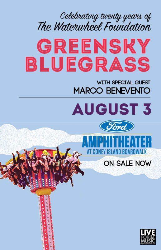 Greensky Bluegrass w/ Marco Benevento @ Coney Island Boardwalk | L4LM