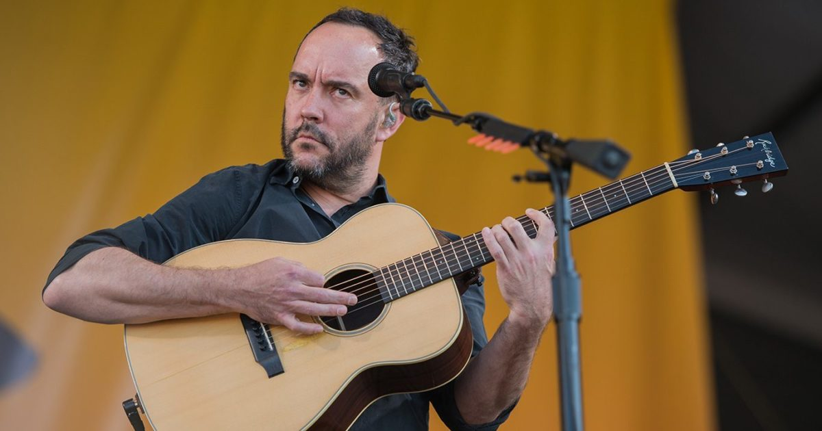 Dave Matthews Discusses Plans For First New DMB Album Since 2012