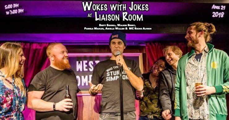 wokes with jokes