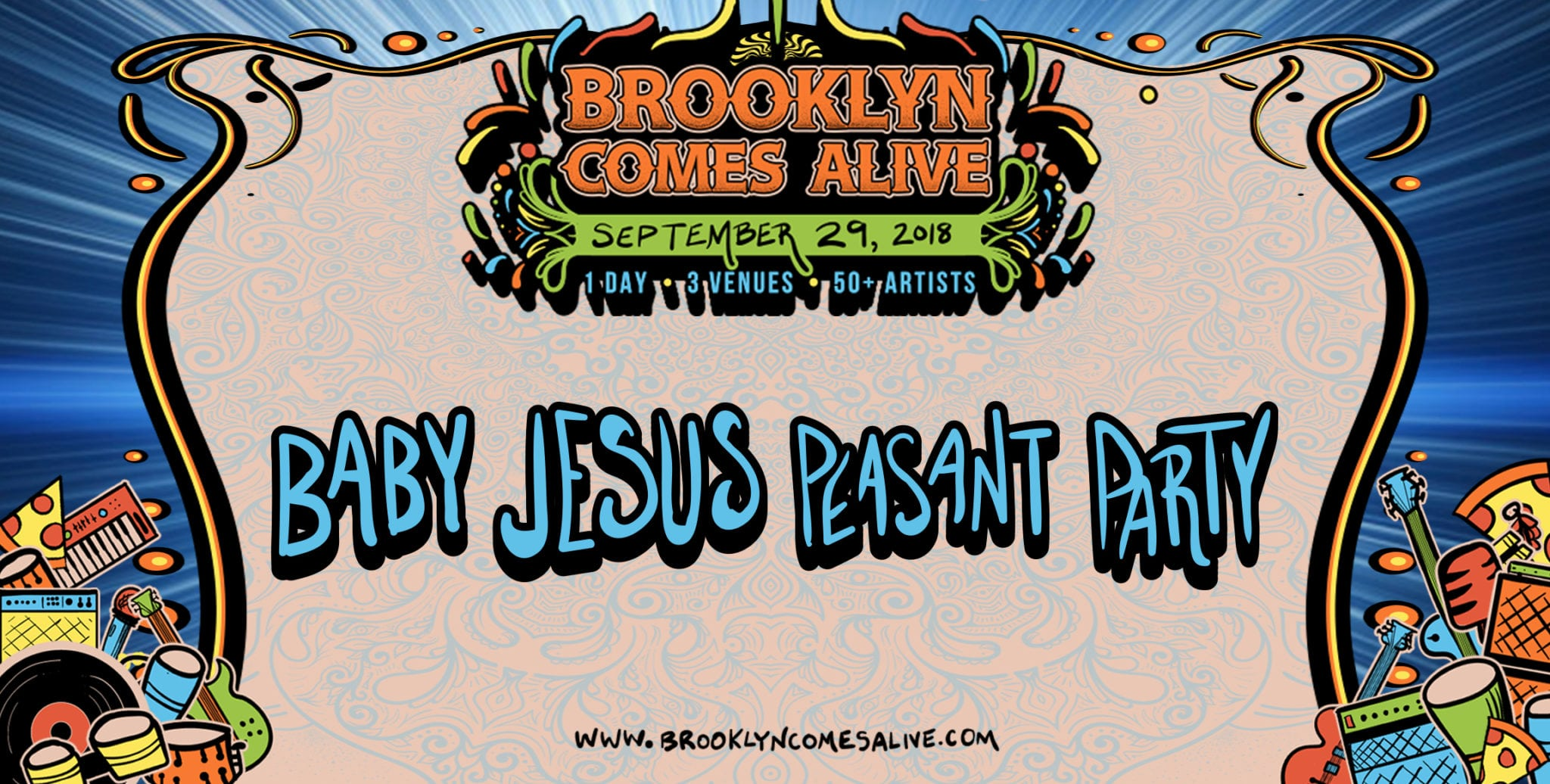 Lettuce's Jesus Coomes To Debut His 'Baby Jesus Peasant