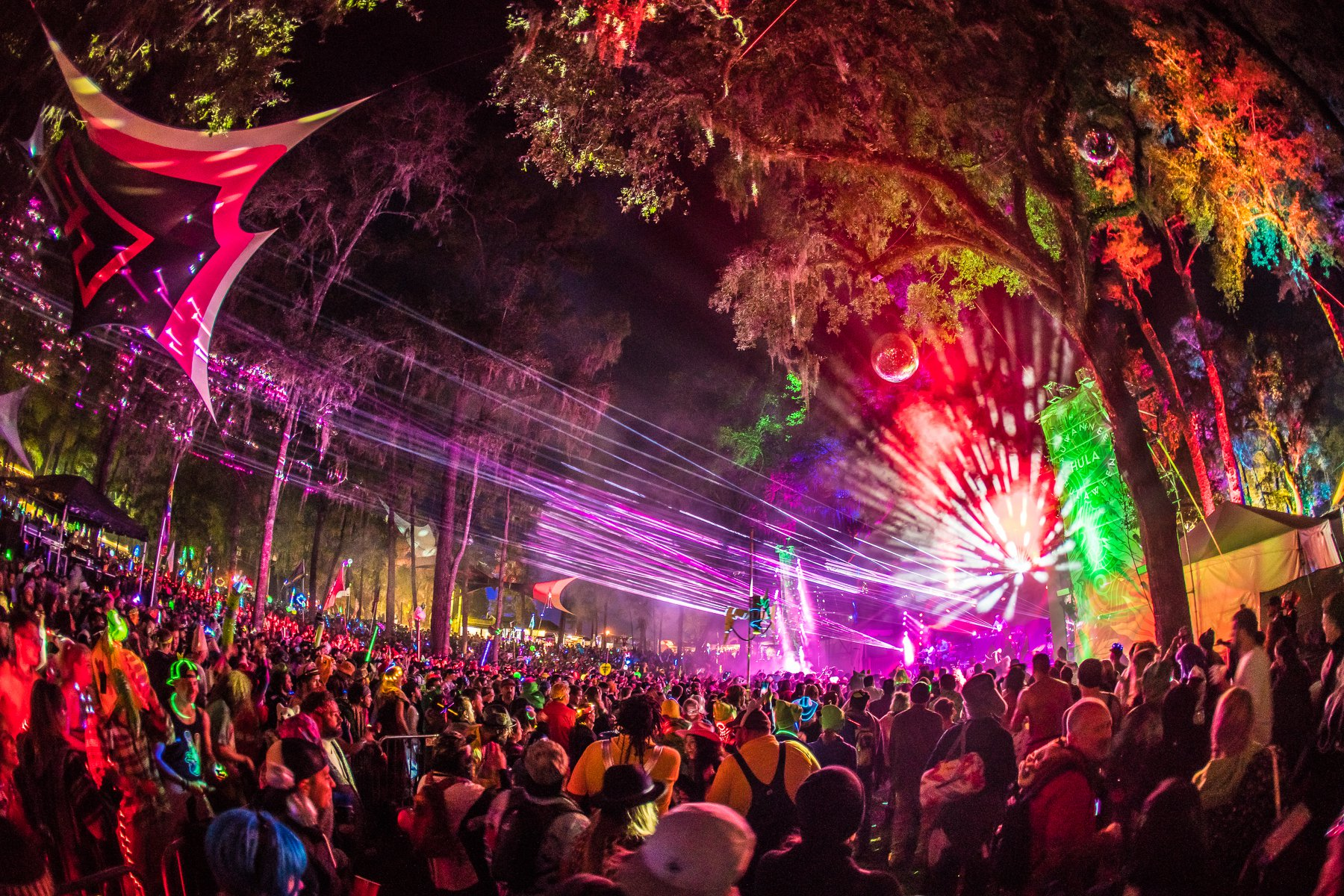 Image result for suwannee hulaween the amphitheater stage