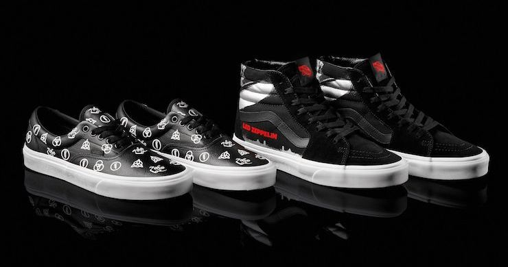 Led Zeppelin Announces Partnership With Vans For 50th Anniversary Apparel Line