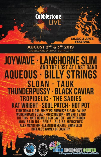 cobblestone live, cobblestone live 2019, cobblestone live lineup, cobblestone live lineup 2019