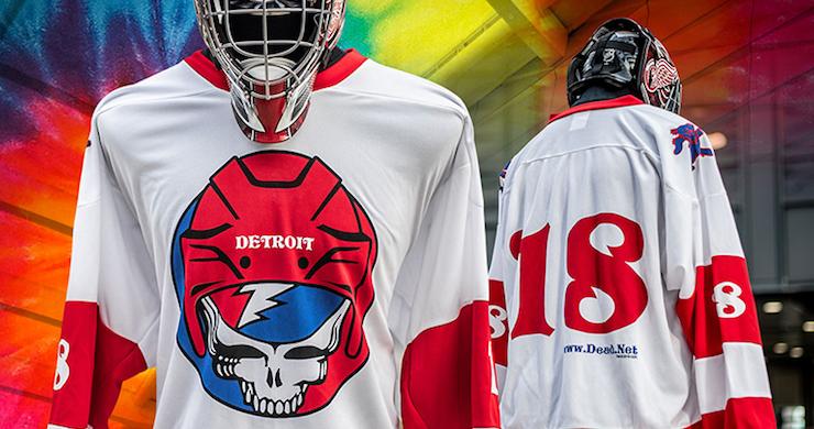 Detroit Red Wings Grateful Dead