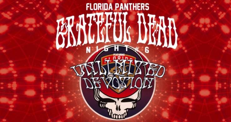 Florida Panthers, Florida Panthers Grateful Dead, Grateful Dead